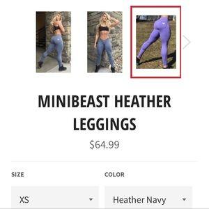 mini beast Pants - Mini beast leggings worn once